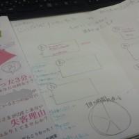 制作過程:エステ商材メーカーさんの小冊子 下書きができた!
